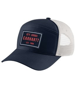 Carhartt Men's Canvas Five-Panel Quality Goods Graphic Cap 104716