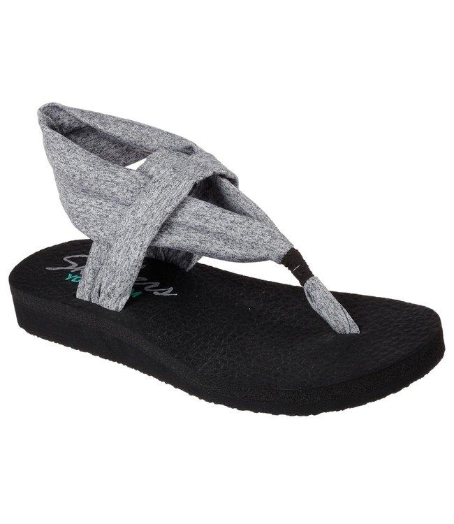 Skechers Women's Meditation - Studio Kicks Sandals 38615 GRY