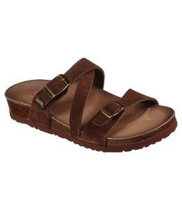 Skechers Women's Arch Fit Granola - Kindred Vibez Sandal 163318 CHOC