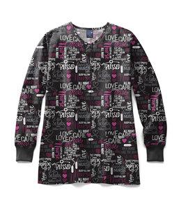 Zoe+Chloe Women's Hope Full Warm Up Scrub Jacket Z85213
