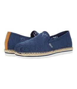 Skechers Women's BOBS Breeze Lo - Misty Sky Shoe 113805 NVY