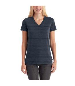 Carhartt Women's Lockhart Short-Sleeve V-Neck T-Shirt 102452