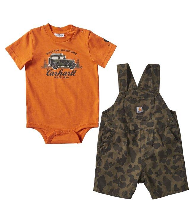 Carhartt Boy's Infant Camo Shortall Set CG8755