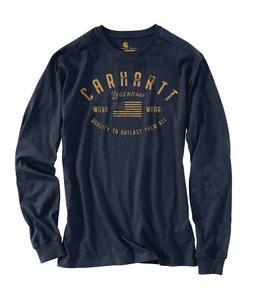 Carhartt Men's Midweight Legendary Graphic Long Sleeve T-Shirt 104439