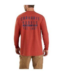 Carhartt Men's Heavyweight Rugged Workwear Long Sleeve T-Shirt 104433