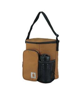 Carhartt Vertical Lunch Cooler with Water Bottle Carhartt Brown 8950210002