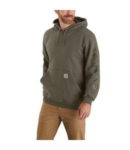 Carhartt Men's Original Fit Midweight Camo Graphic Sweatshirt 104572