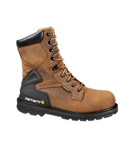 "Carhartt Men's 8"" Non-Safety Toe Waterproof Work Boot CMW8100"