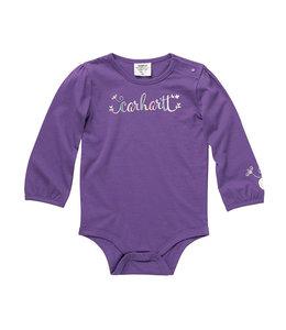 Carhartt Girl's Infant Long Sleeve Graphic Bodysuit CA9841