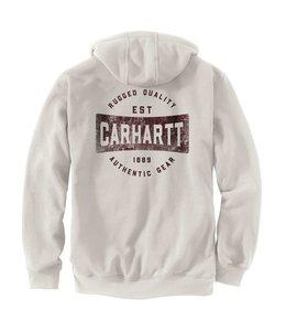 Carhartt Men's Loose Fit Midweight Full-Zip Hooded Authentic Gear Graphic Sweatshirt 105021