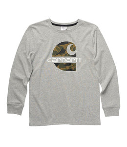 Carhartt Boy's Long Sleeve Crewneck Graphic Tee CA6224