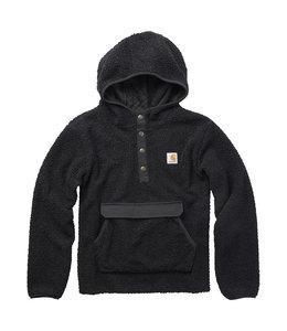 Carhartt Boy's Long Sleeve Hooded 1/2 Snap-Front Sweatshirt CA6201