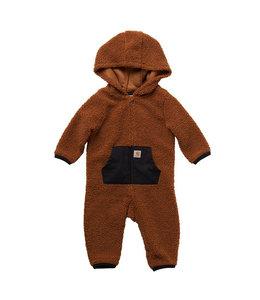 Carhartt Boy's Infant Fleece Long Sleeve Zip-Front Coverall CM8709