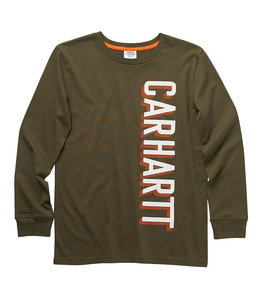 Carhartt Boy's Long Sleeve Crewneck Graphic Tee CA6225