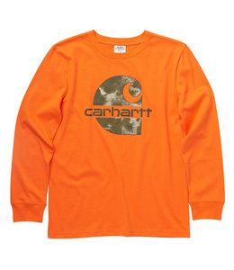 Carhartt Boy's Long Sleeve Crewneck Graphic Tee CA6223