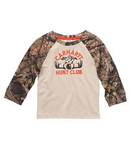 Carhartt Boy's Toddler Long Sleeve Crewneck Hunt Club Tee CA6219