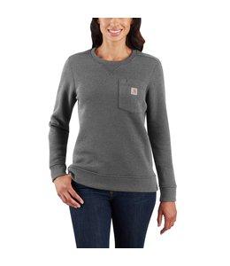Carhartt Women's Clarksburg Crewneck Pocket Sweatshirt 103925