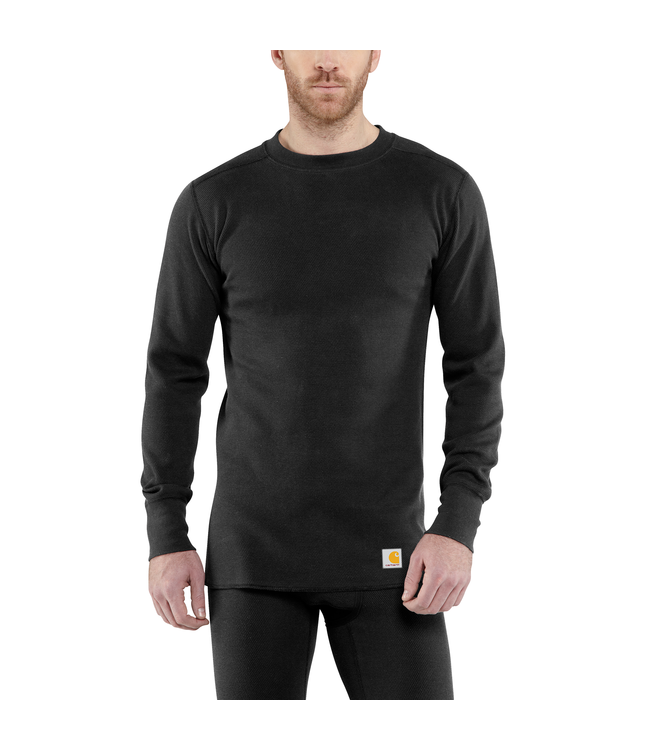 Carhartt Men's Base Force® Heavyweight Cotton Thermal Crew Neck Top 100639