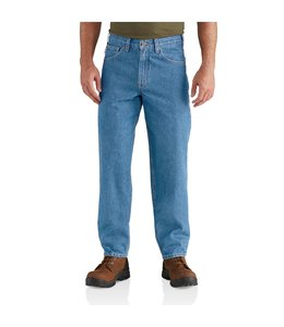 Carhartt Men's Relaxed Fit Tapered Leg Jeans B17