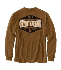 Carhartt Men's Relaxed Fit Heavyweight Sleeve Logo Graphic T-Shirt 104893