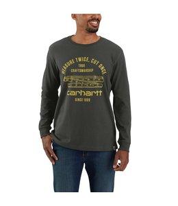 Carhartt Men's Relaxed Fit Heavyweight Long-Sleeve True Craftsmanship Graphic T-Shirt 105164