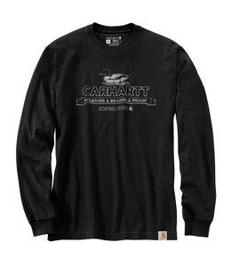 Carhartt Men's Relaxed Fit Heavyweight Long-Sleeve Super Dux Graphic T-Shirt 105060