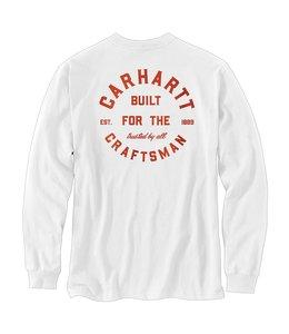 Carhartt Men's Relaxed Fit Heavyweight Long-Sleeve Pocket Craftsman Graphic T-Shirt 104895