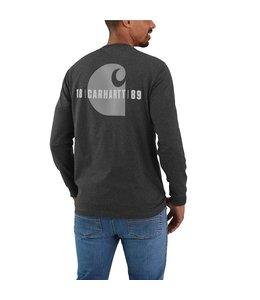 Carhartt Men's Loose Fit Heavyweight Long-Sleeve Pocket Carhartt C Graphic T-Shirt 105054