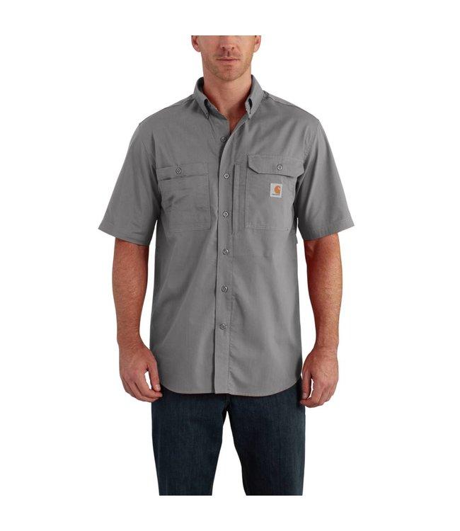 Carhartt Short-Sleeve Shirt Force Ridgefield Solid 102417
