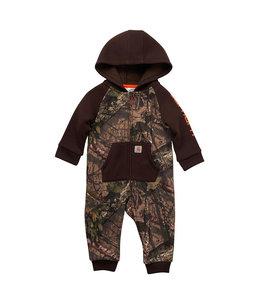 Carhartt Boy's Infant Fleece Long Sleeve Zip-Front Camo Coverall CM8708