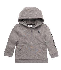 Carhartt Boy's Toddler Long Sleeve Half Zip Graphic Sweatshirt CA6207