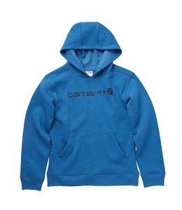 Carhartt Boy's Fleece Long Sleeve Logo Sweatshirt CA6196