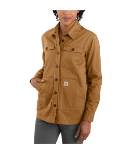 Carhartt Women's Relaxed Fit Twill Lined Overshirt 105049