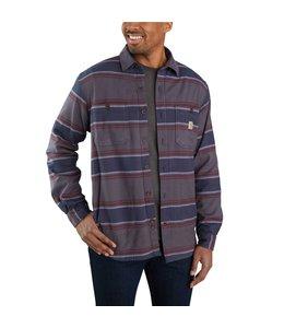 Carhartt Men's Rugged Flex® Relaxed Fit Midweight Flannel Fleece-Lined Shirt 104913