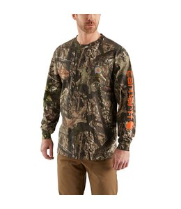 Carhartt Men's Workwear Graphic Camo Sleeve Long Sleeve T-Shirt 101776