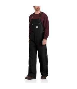 Carhartt Men's Loose Fit Firm Duck Insulated Bib Overall 104393