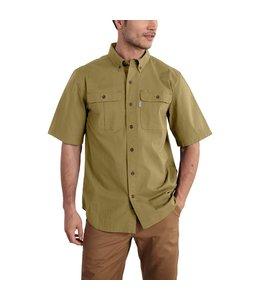 Carhartt Men's Foreman Solid Short Sleeve Work Shirt 101555