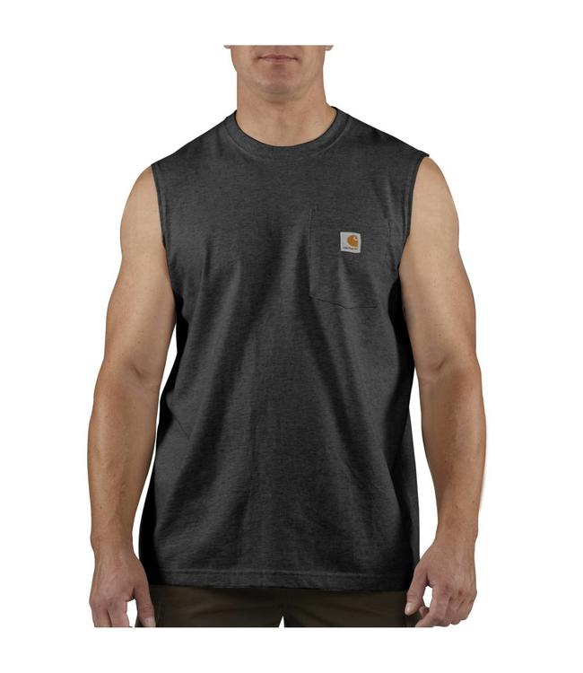 Carhartt Men's Workwear Pocket Sleeveless T-Shirt 100374