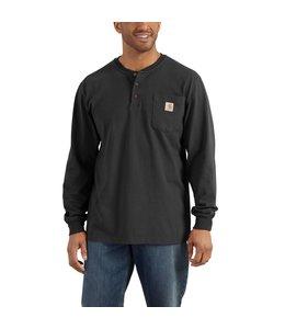 Carhartt Men's Workwear Long-Sleeve Henley T-Shirt K128