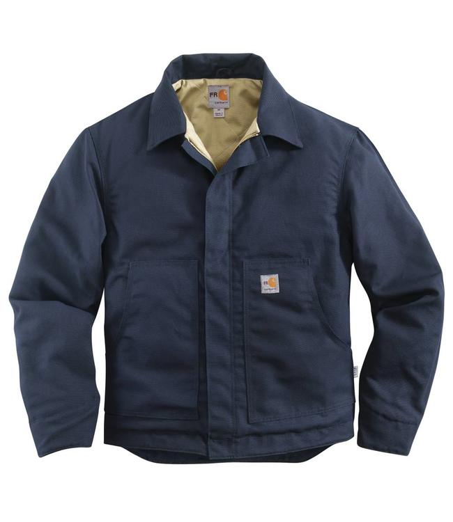 f1393d7cbc Carhartt Jacket Midweight Flame-Resistant Canvas Quilt-Lined Dearborn 101624