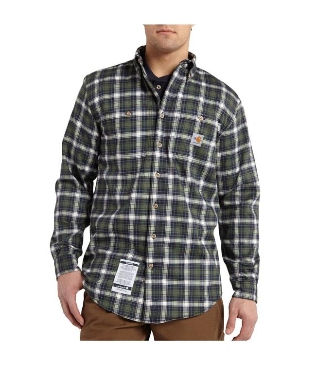 Carhartt Shirt Classic Plaid Flame Resistant 101028