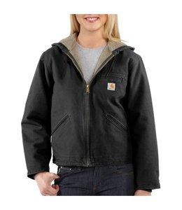Carhartt Jacket Sandstone Zip Front Sierra WJ141