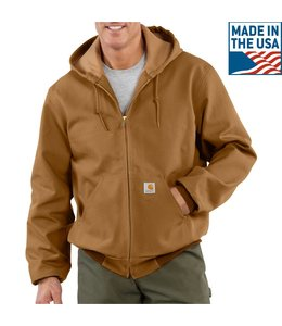 Carhartt Men's Active Duck Thermal Lined Jacket J131