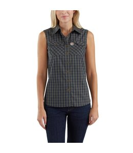 Carhartt Shirt Plaid Sleeveless Force Ridgefield 103082