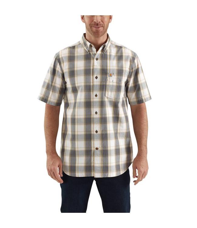 eb366d53879 Shirt Button Down Short-Sleeve Essential Plaid 103005 - Traditions ...
