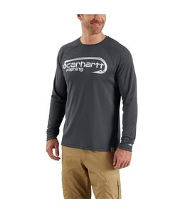 Carhartt T-Shirt Long Sleeve Fishing Hook Graphic Force 103001