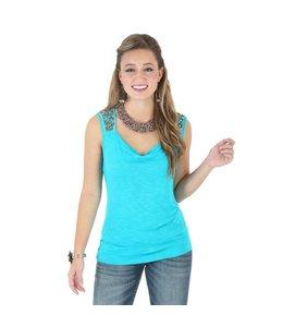 Wrangler Solid Top Rock 47® by Wrangler® Sleeveless with Draped Neckline LJK216Q