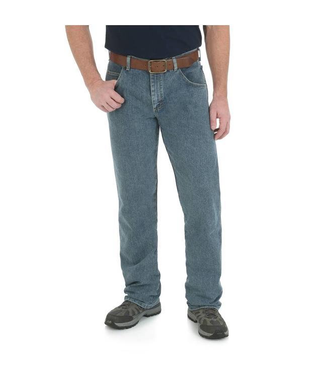 Wrangler Jean Relaxed Straight Rugged Wear® Advanced Comfort 31050BI