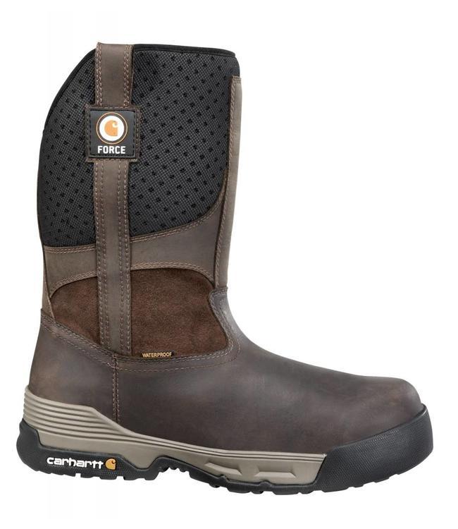 Carhartt Pull On Carhartt Force® 10 Inch Brown Waterproof CMA1310