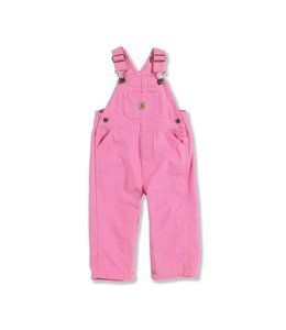 Carhartt Girl's Infant/Toddler Canvas Bib Overall CM9626